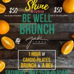 Be Well Brunch at Gabi James 5-25-19